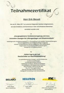 2011 Biesolt Belimo Hekatron Brandfrüherkennung