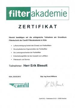 2013 Biesolt Filterakademie Camfil